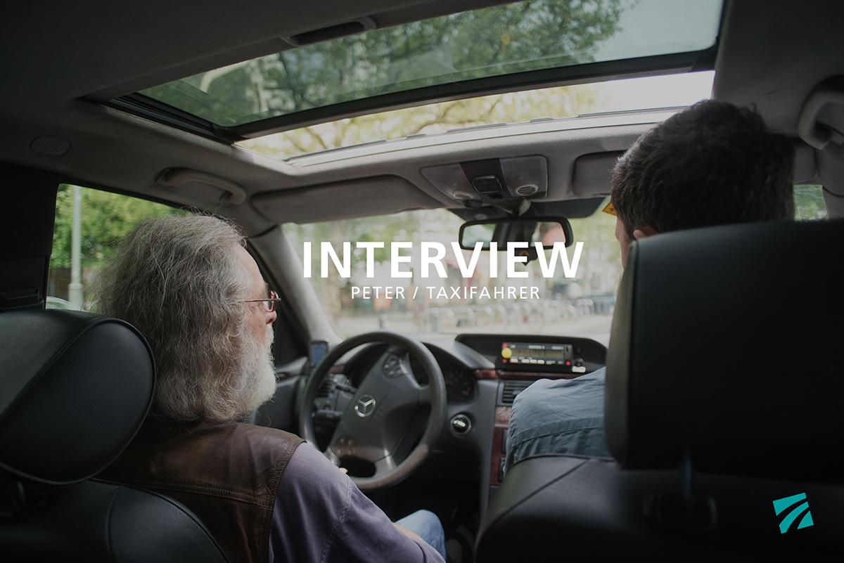 Taxifahrer Peter am Steuer